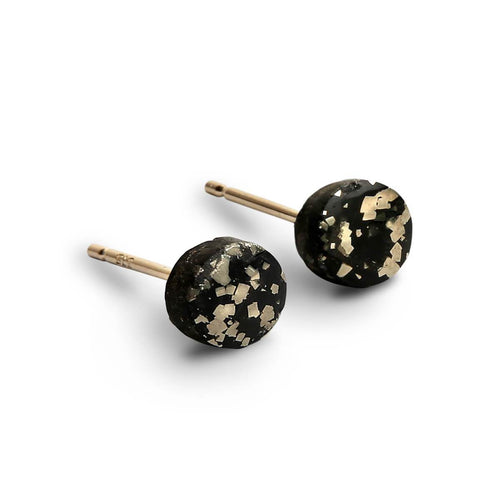 9kt Yellow Gold Stellar Simple Studs