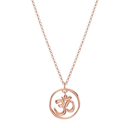 Dangling Om Necklace
