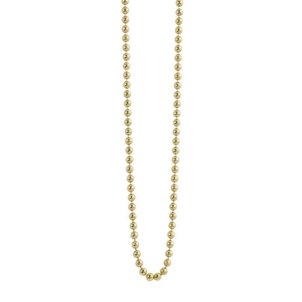 14kt Yellow Gold Ball Chain-Julez Bryant-JewelStreet EU