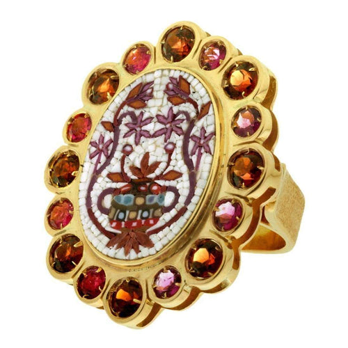 Baroque Ring-Le Sibille-JewelStreet EU