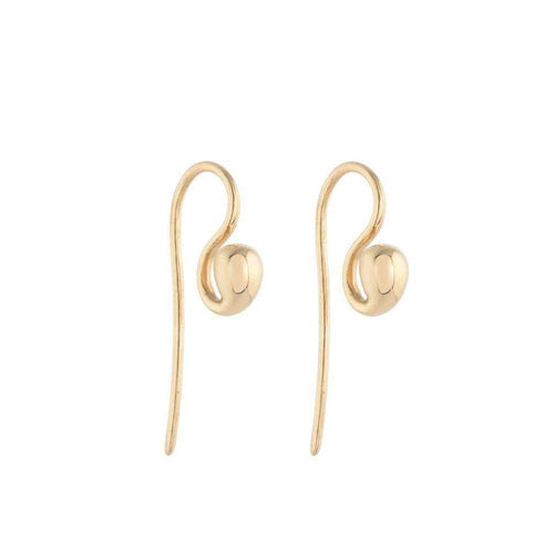 Lucy Garnet Earrings-Biiju-JewelStreet EU
