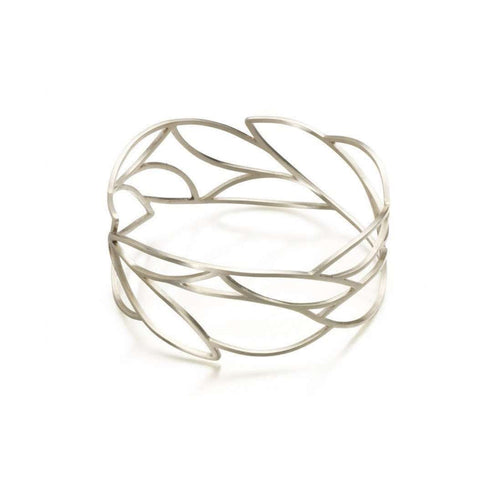 Frond Bangle-Janice Zethraeus-JewelStreet EU