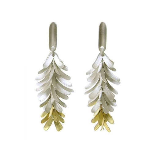 Long Fir Drop Earrings-Glenn Campbell-JewelStreet EU
