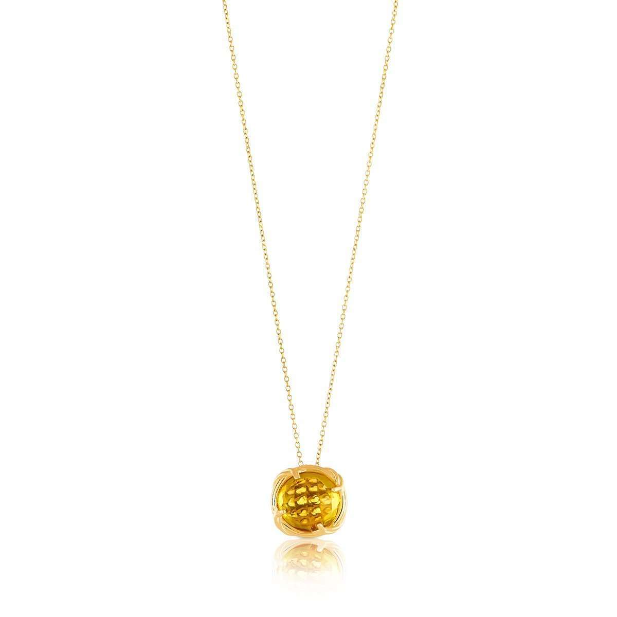 Fantasies Citrine Necklace 18kt Yellow Gold ,[product vendor],JewelStreet EU