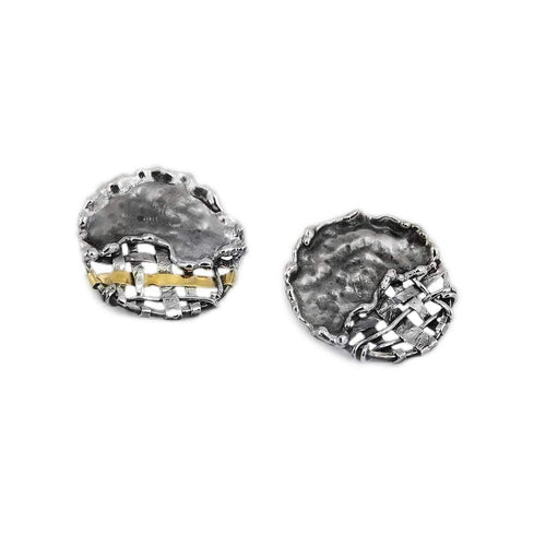 Round Fence Earrings ,[product vendor],JewelStreet