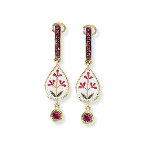 Fleur Earrings-Le Sibille-JewelStreet EU