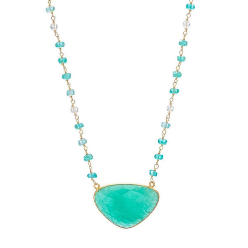 Apatite Necklace-Heather Kenealy Jewelry-JewelStreet EU