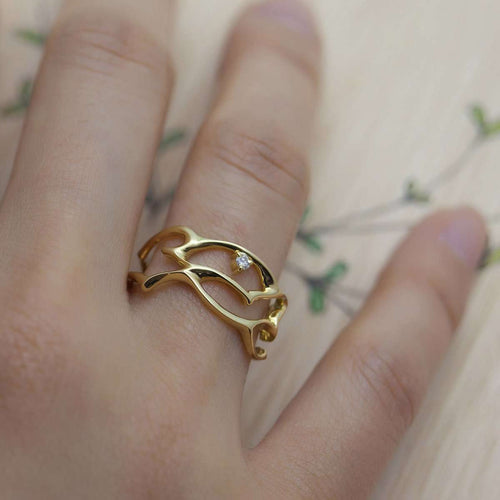 Arabesque Ella Ring-ileava jewelry-JewelStreet EU