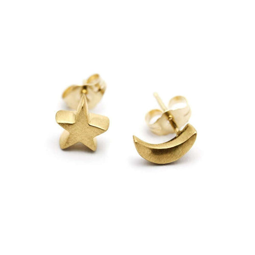 Arabian Night Stud Earrings-ileava jewelry-JewelStreet EU