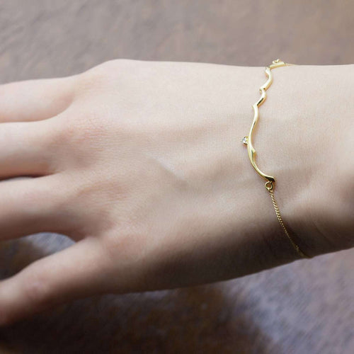 Arabesque Bar Bracelet-ileava jewelry-JewelStreet EU
