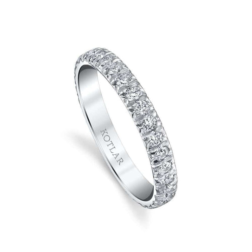 French Cut Artisan Pave Band ,[product vendor],JewelStreet EU