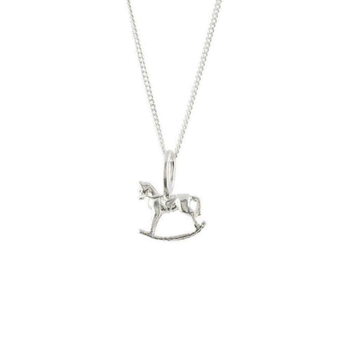 Rocking Horse Silver Charm ,[product vendor],JewelStreet