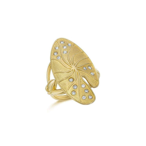 Lily Pad Ring ,[product vendor],JewelStreet EU