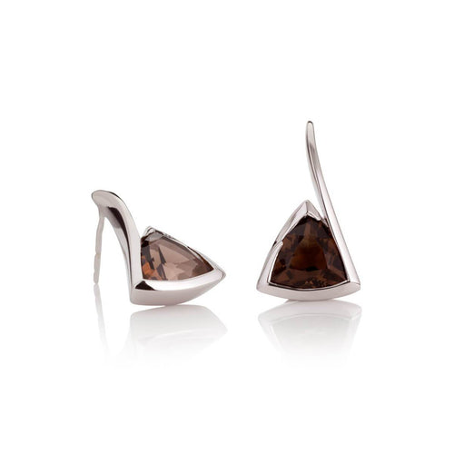 Amore Smoky Quartz Earrings