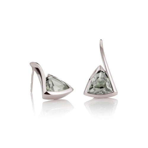 Amore Green Amethyst Earrings