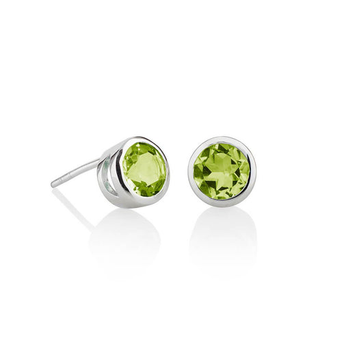 Juliet Peridot Earrings