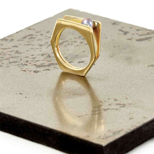 Alvaro Gold Ring-Neola-JewelStreet EU