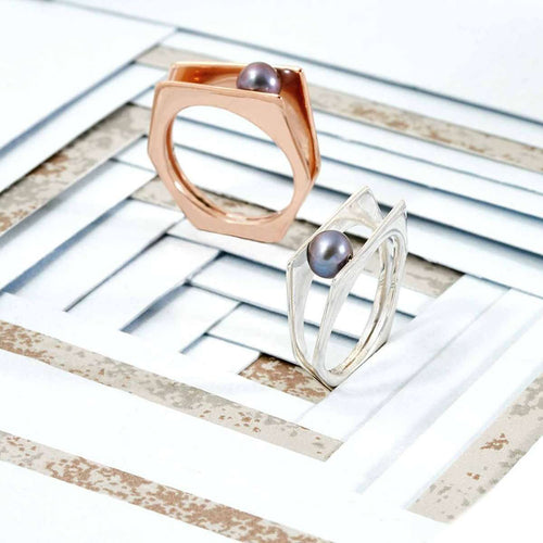 Alvaro Rose Gold Ring-Neola-JewelStreet EU