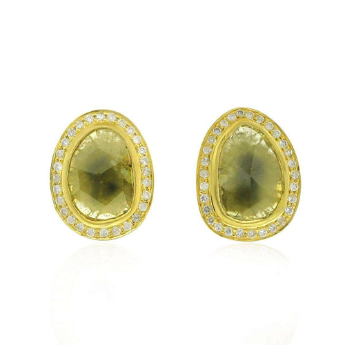 Exotic Diamond Stud Earrings ,[product vendor],JewelStreet EU