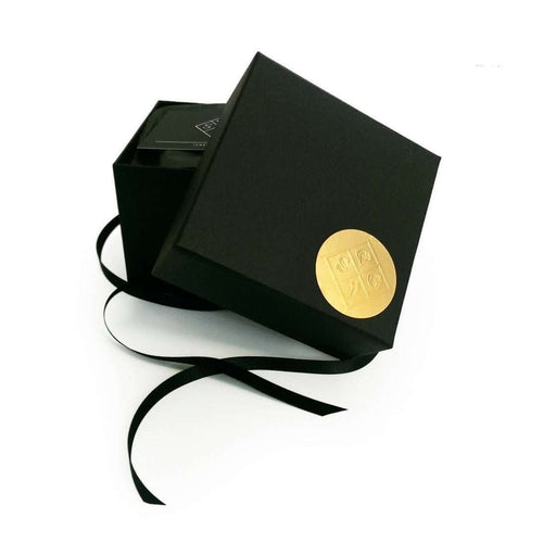 Gold & Black Leather 'Skin' Cuff-Sara Gunn-JewelStreet EU