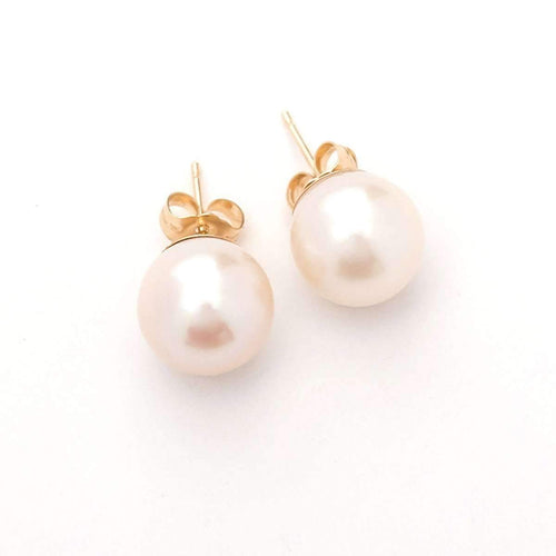 White Pearl Earrings-Oh my Christine Jewelry-JewelStreet US