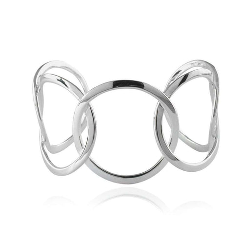 Five Rings Torque Bangle-Jupp Fine Jewellery-JewelStreet EU