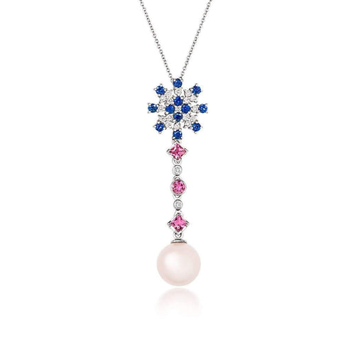Tivon Touch of Pink Pendant-Necklaces-Tivon Fine Jewellery-JewelStreet