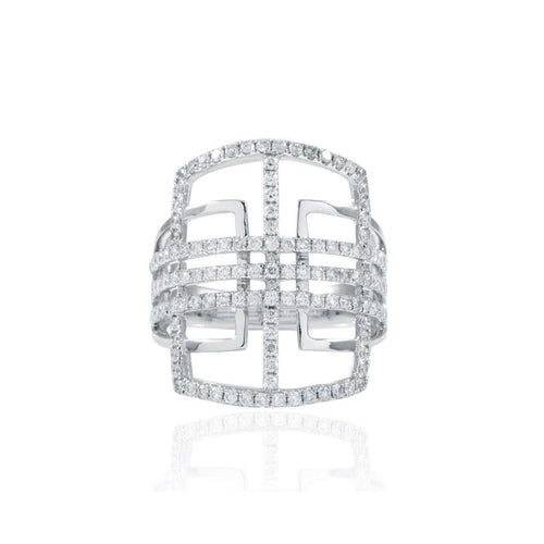 Ava Cocktail Ring-Estenza-JewelStreet EU