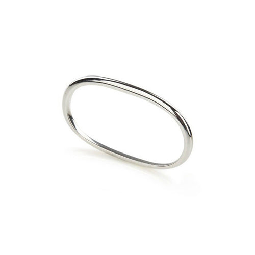 Sterling Silver Pure Double Ring ,[product vendor],JewelStreet
