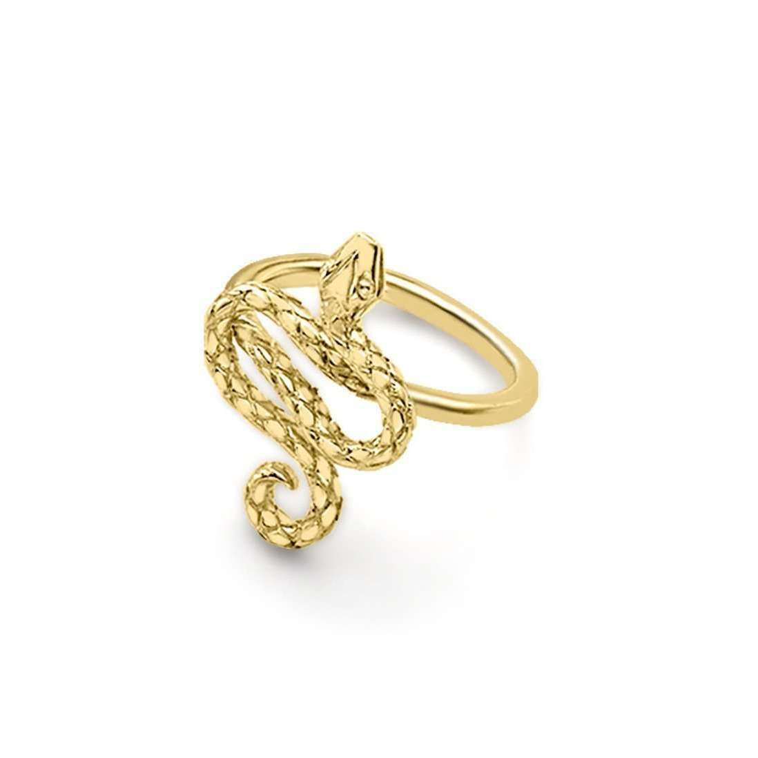 London Road Jewellery Kew Serpent Yellow Gold Ring - UK L - US 5 1/2 - EU 51 3/4 VtRITj