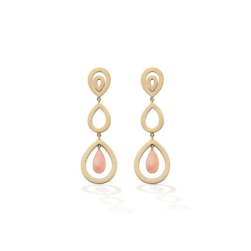 Coral Pyrus Earrings-Robinson Pelham-JewelStreet EU
