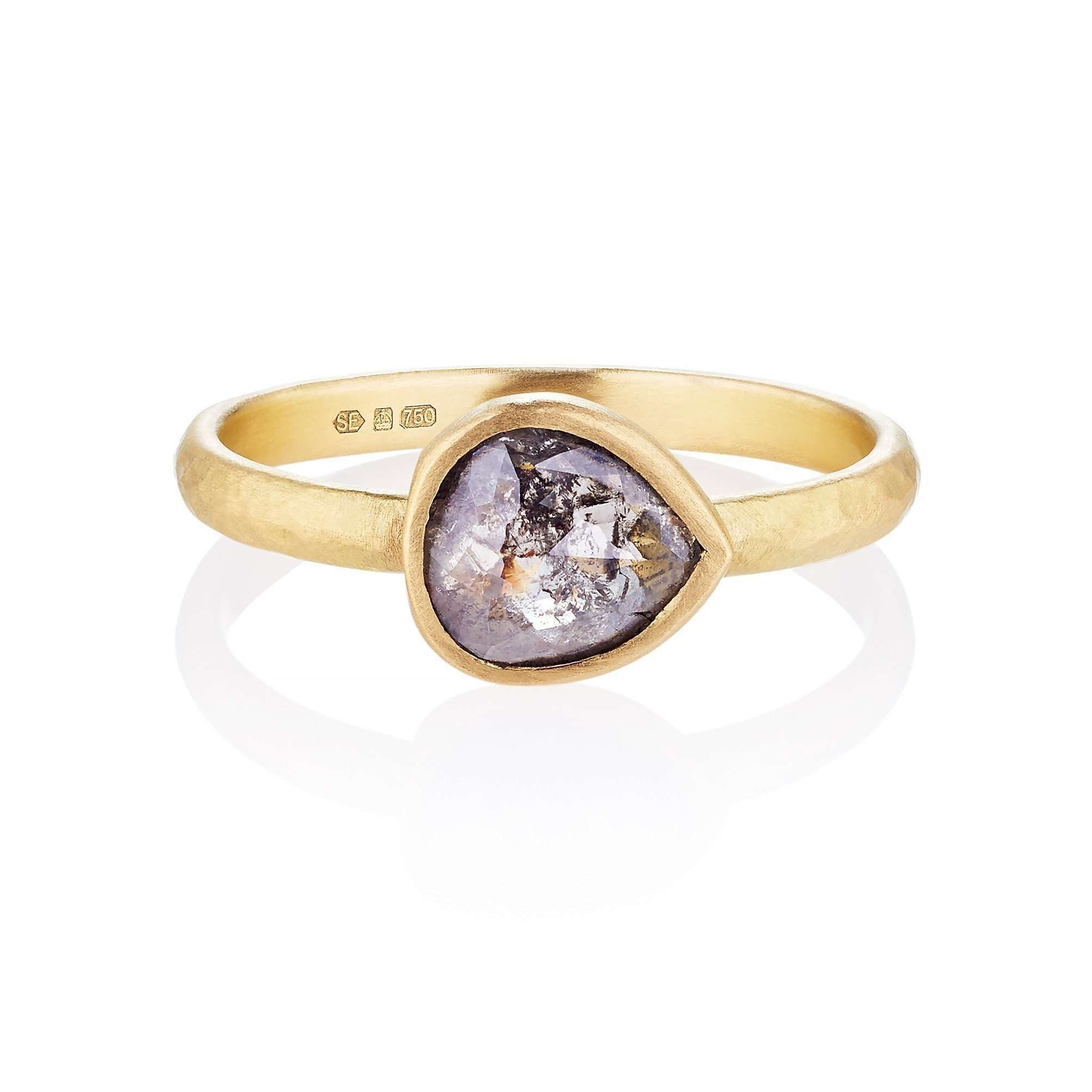 Neola Stacking Gold Ring - UK P - US 7 1/2 - EU 56 1/2 d34voMkO88