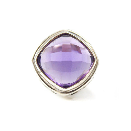 Ring In Sterling Silver And Amethyst ,[product vendor],JewelStreet