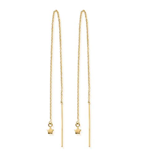 Yellow Gold Plated Dream Achiever Earrings ,[product vendor],JewelStreet