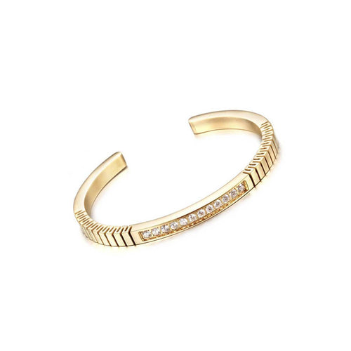 Gold Paved Roman Bracelet ,[product vendor],JewelStreet