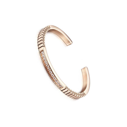 Rose Gold Roman Bracelet ,[product vendor],JewelStreet