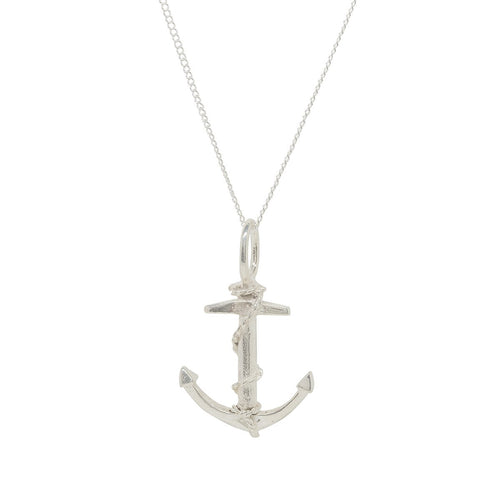 Anchor Silver Charm-Katie Mullally-JewelStreet EU