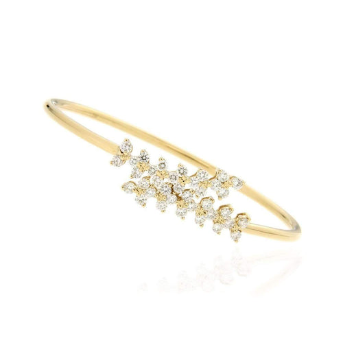 """Spring"" Yellow Diamond Bracelet"