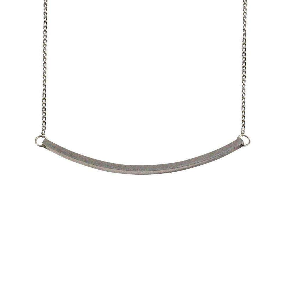 Mei-li Rose Two-Way Rectangle Necklace - Silver tB1QxlN8