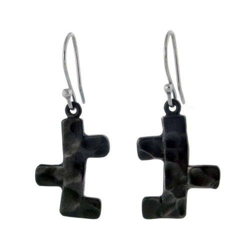Black Earrings-Jan D-JewelStreet EU