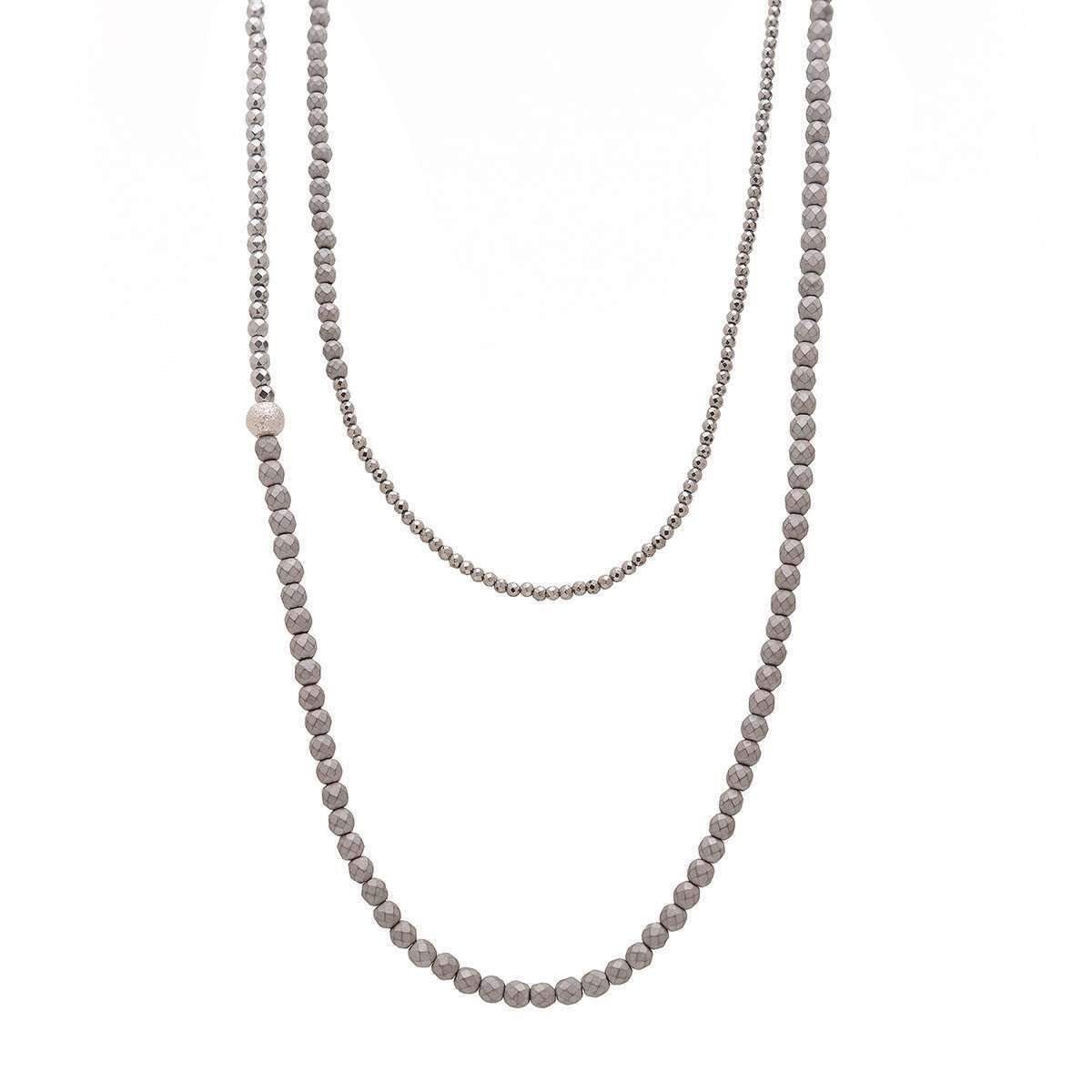 Argenton Design White And Rose Gold Diamond Moon And Two Stars Necklace - 16.5 Inches kaYXpuGg3