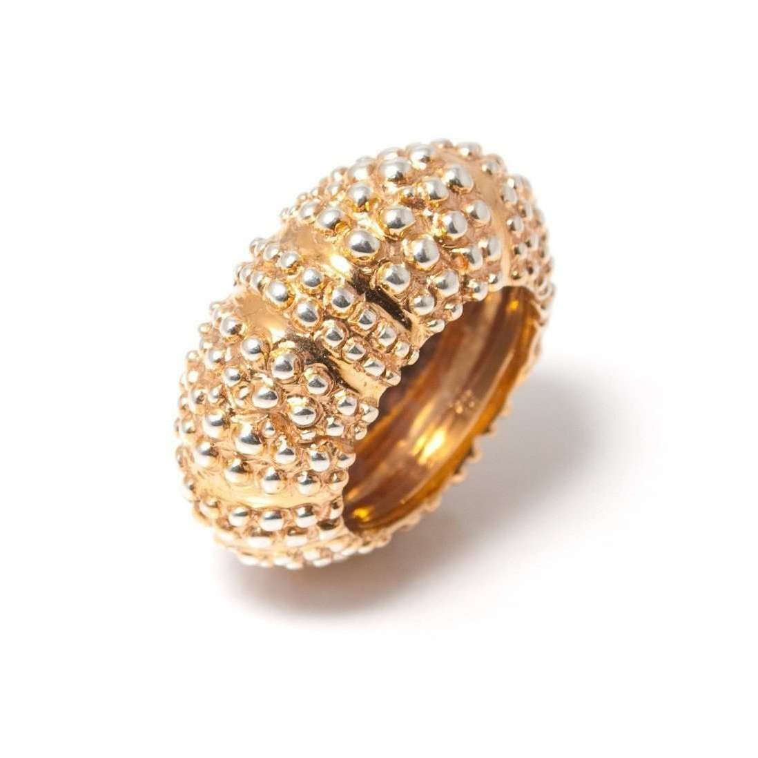 Gold plated Oursin Ring-Flavie Michou-JewelStreet EU