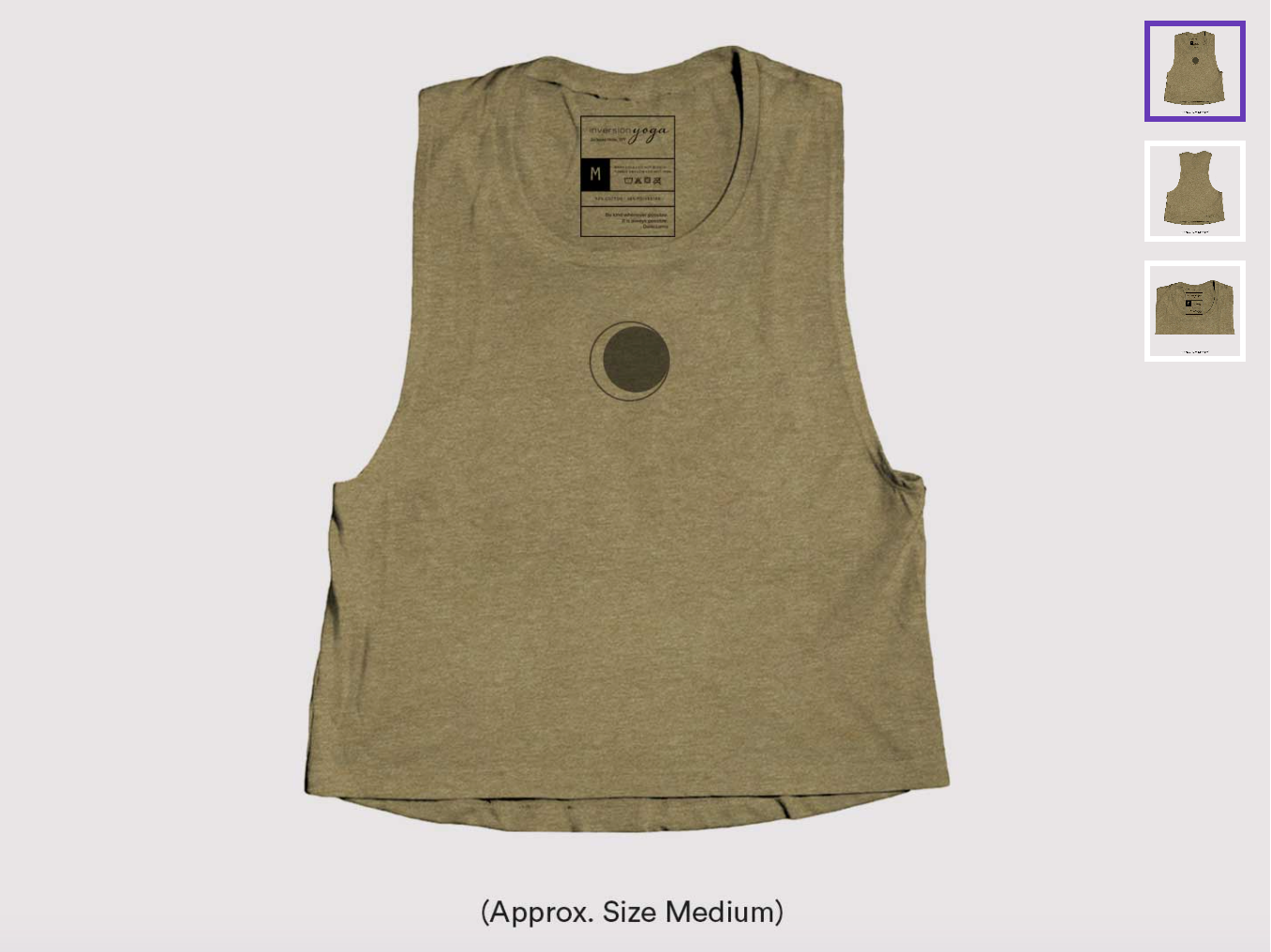 Solar Eclipse, Women's Crop Tank Thumbnail