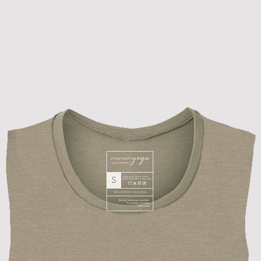Tetons, Women's Flowy Heather Stone Tank Thumbnail