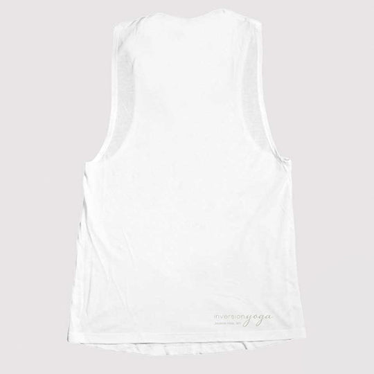 Path Of Totality, Women's White Tank Thumbnail