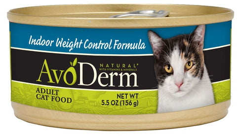 AvoDerm Natural Indoor Weight Control Formula Canned Cat Food