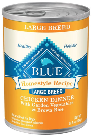 Blue Buffalo Large Breed Chicken Canned Dog Food