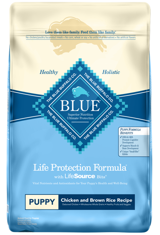 Blue Buffalo Life Protection Puppy Chicken and Brown Rice Recipe Dry Dog Food