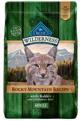 Blue Buffalo BLUE Wilderness Rocky Mountain Recipe with Rabbit Dry Cat Food