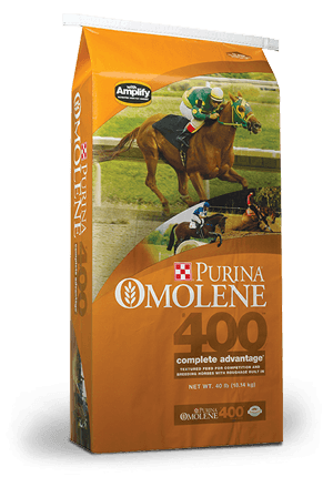 Purina® Omolene #400® Complete Advantage Horse Feed